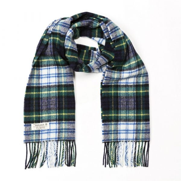 Irish Wool Scarf Short Dress Gordon Tartan