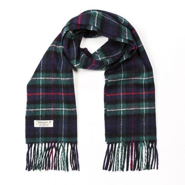 Irish Wool Scarf Short MacKenzie Tartan