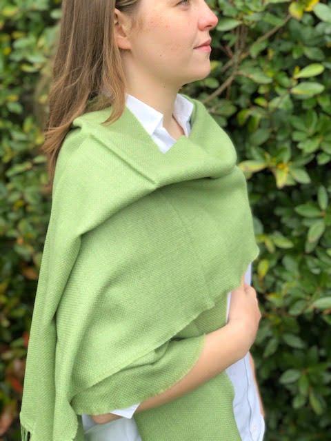 Large Merino Wool Scarf