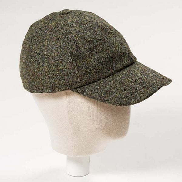Baseball Cap with Ear Flap Loden Rust
