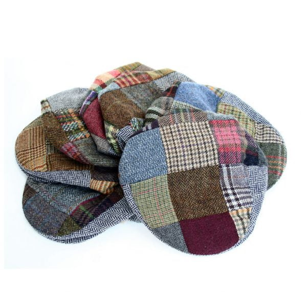 Irish Tweed Patch Cap
