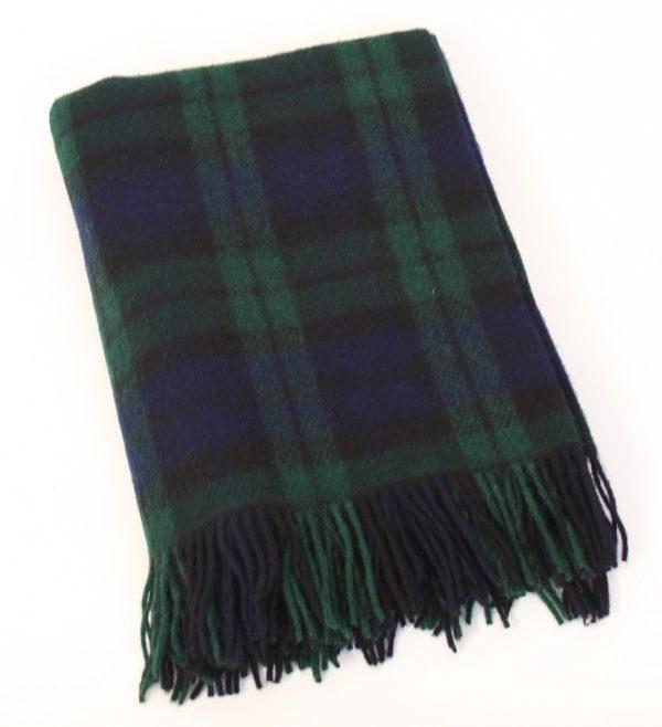 Irish Picnic Knee Blanket Blackwatch Plaid