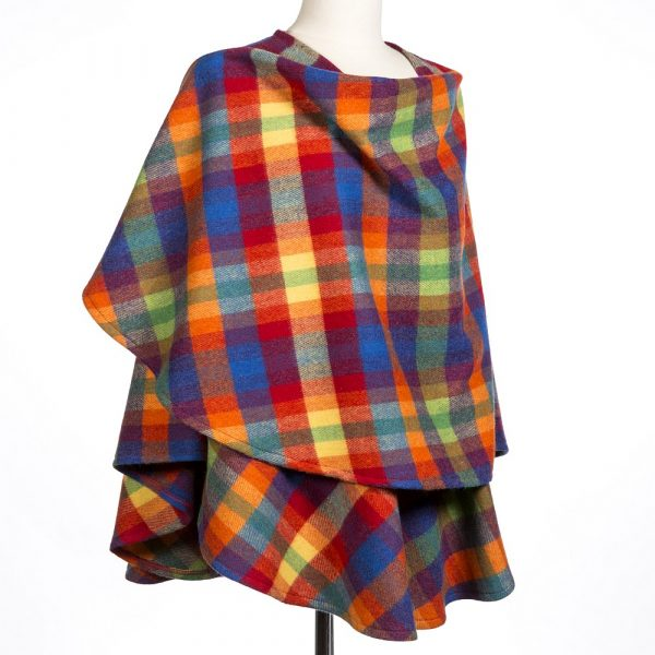 Lambswool Cape