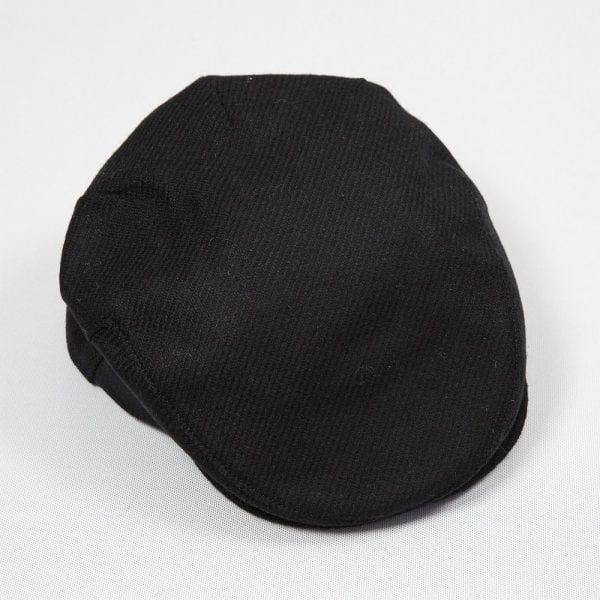 Irish Tweed Cap Black