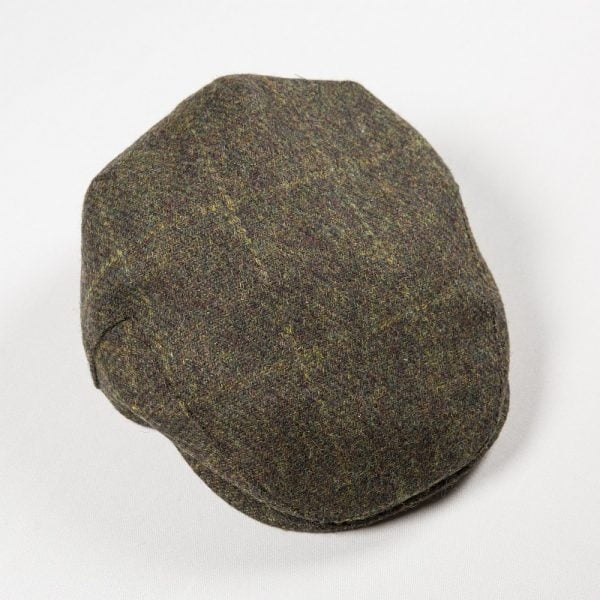 Irish Tweed Cap Loden Rust