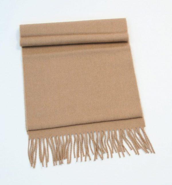 Merino Luxury Wool Scarf Camel
