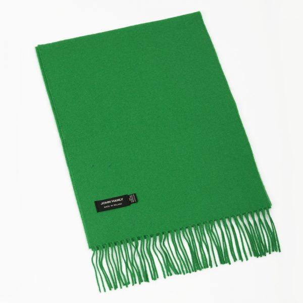 Merino Luxury Wool Scarf Emerald Green