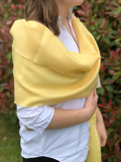 Large Merino Wool Scarf