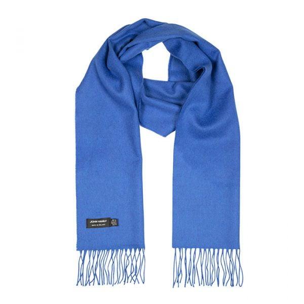 Merino Luxury Wool Scarf Royal Blue