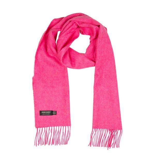 Merino Luxury Wool Scarf Pink